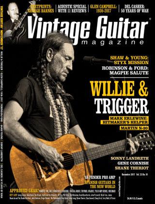 Vintage Guitar Magazine November 2017
