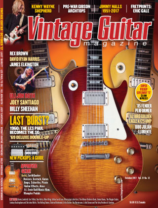 Vintage Guitar Magazine October 2017