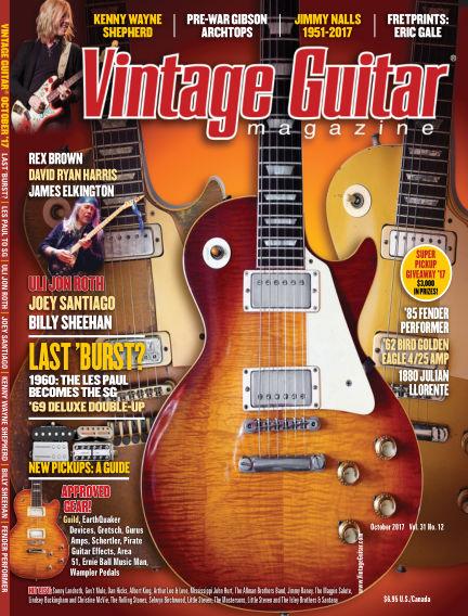 Vintage Guitar Magazine August 10, 2017 00:00
