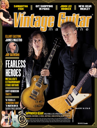 Vintage Guitar Magazine March 2018
