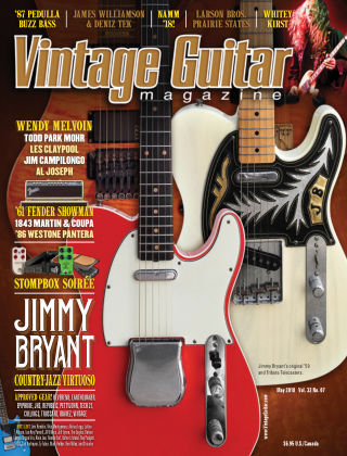 Vintage Guitar Magazine May 2018