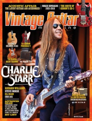 Vintage Guitar Magazine June 2018