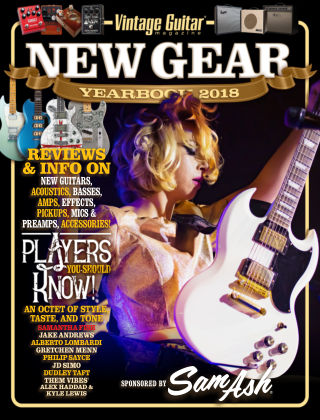 Vintage Guitar Magazine New Gear Yearbook 18