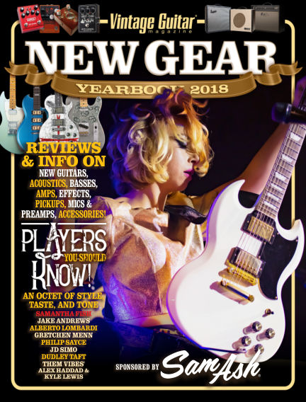 Vintage Guitar Magazine May 08, 2018 00:00
