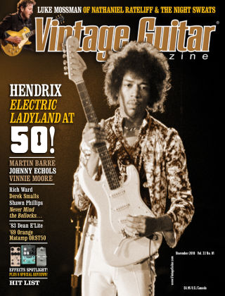 Vintage Guitar Magazine November 2018