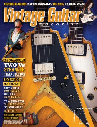 Vintage Guitar Magazine December 2018