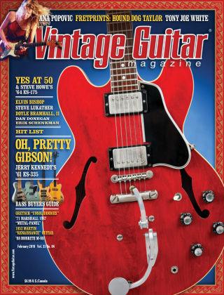 Vintage Guitar Magazine February 2019