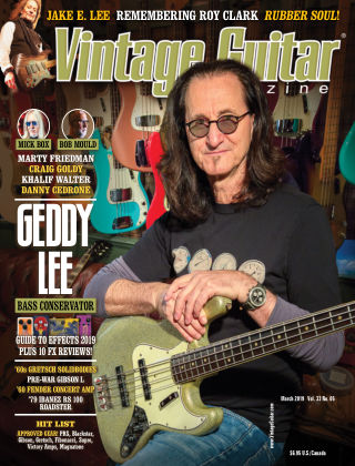 Vintage Guitar Magazine March 2019