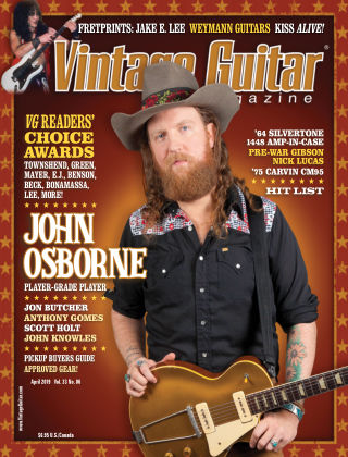 Vintage Guitar Magazine April 2019