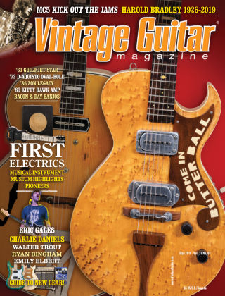 Vintage Guitar Magazine May 2019