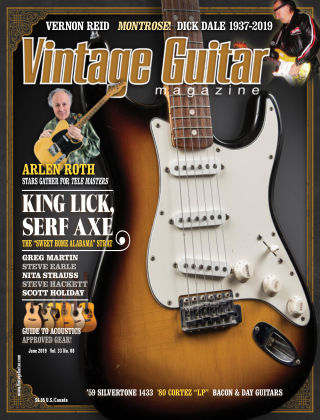 Vintage Guitar Magazine July 2019
