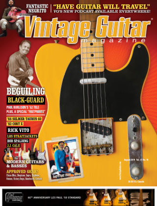 Vintage Guitar Magazine August 2019
