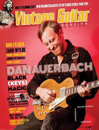 Vintage Guitar Magazine October 2019