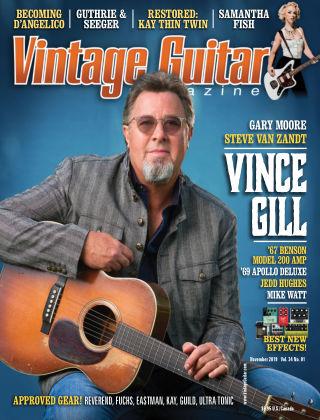 Vintage Guitar Magazine November 2019