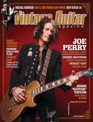 Vintage Guitar Magazine December 2019