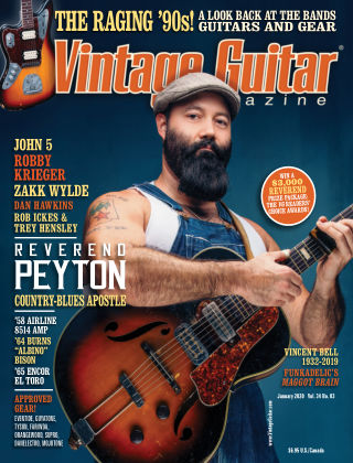 Vintage Guitar Magazine January 2020