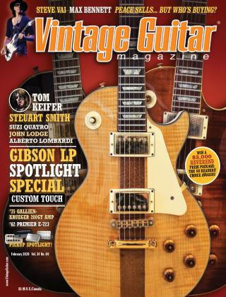 Vintage Guitar Magazine February 2020