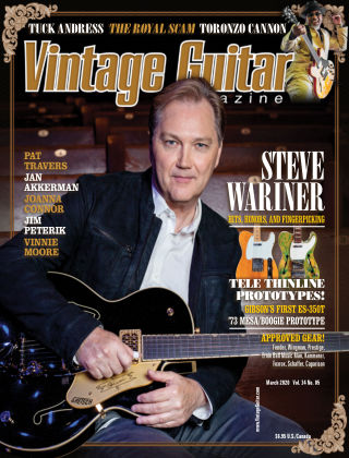 Vintage Guitar Magazine March 2020