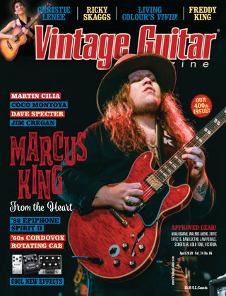 Vintage Guitar Magazine April 2020