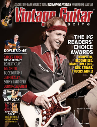 Vintage Guitar Magazine May 2020