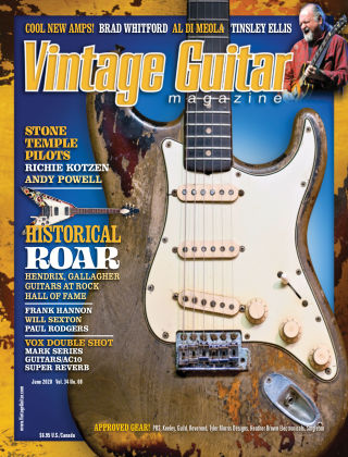 Vintage Guitar Magazine June 2020