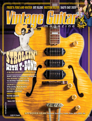 Vintage Guitar Magazine Summer 2020