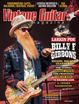 Vintage Guitar Magazine August 2020