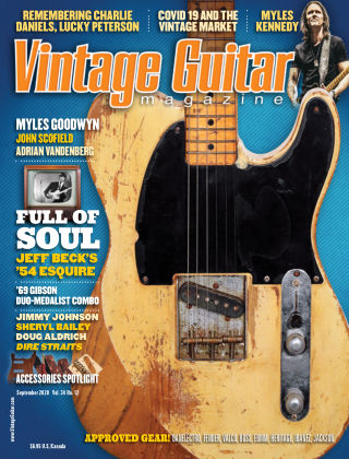 Vintage Guitar Magazine September 2020