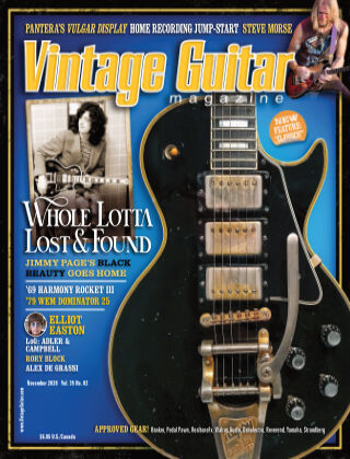 Vintage Guitar Magazine November 2020