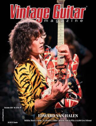 Vintage Guitar Magazine December 2020