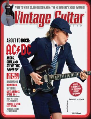 Vintage Guitar Magazine January 2021