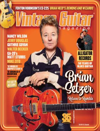 Vintage Guitar Magazine September 2021