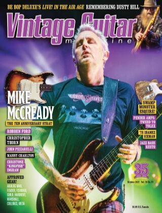 Vintage Guitar Magazine October 2021