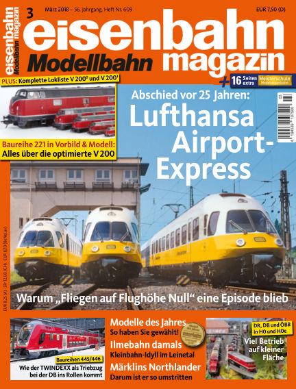 eisenbahn magazin February 17, 2018 00:00