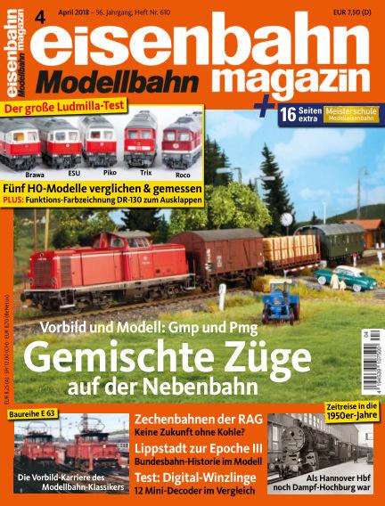 eisenbahn magazin March 15, 2018 00:00
