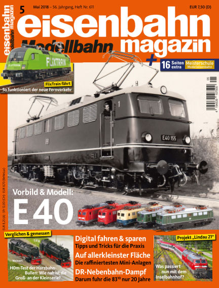 eisenbahn magazin April 12, 2018 00:00