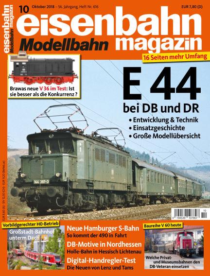 eisenbahn magazin September 13, 2018 00:00