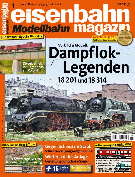 eisenbahn magazin December 13, 2018 00:00