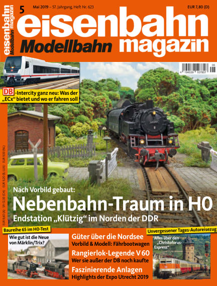 eisenbahn magazin April 11, 2019 00:00