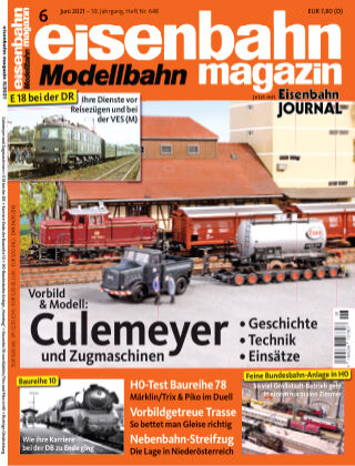 eisenbahn magazin 06_2021