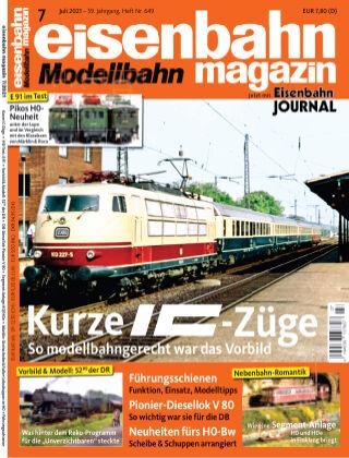 eisenbahn magazin 07_2021