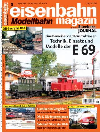 eisenbahn magazin 08_2021