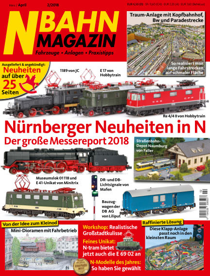 N‐Bahn Magazin March 01, 2018 00:00