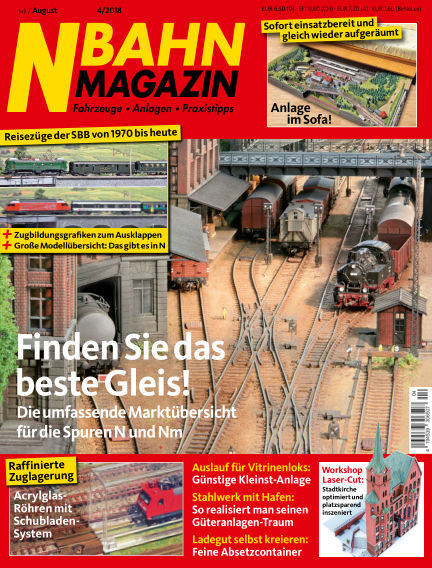 N‐Bahn Magazin June 28, 2018 00:00