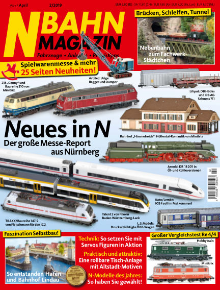 N‐Bahn Magazin February 28, 2019 00:00