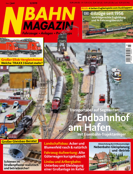 N‐Bahn Magazin April 27, 2019 00:00