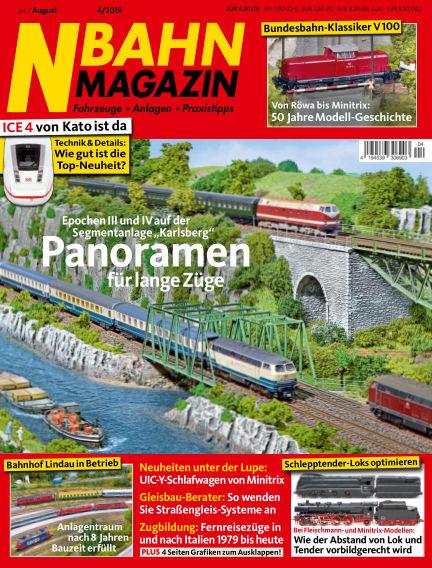 N‐Bahn Magazin June 27, 2019 00:00