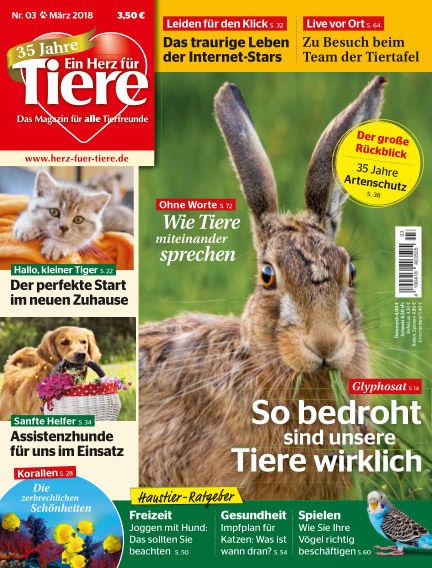 Ein Herz für Tiere February 24, 2018 00:00