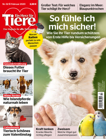 Ein Herz für Tiere January 17, 2020 00:00
