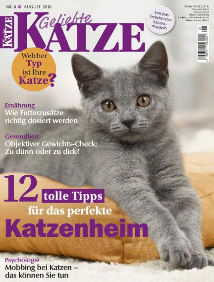 Geliebte Katze July 11, 2018 00:00